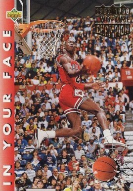 1992 Upper Deck In your face #453c Basketball Card