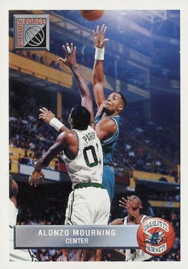 1992 Upper Deck McDonalds Alonzo Mourning #P44 Basketball Card
