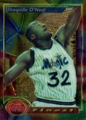 Topps 1993-94 Topps Finest #53 Muggsy Bogues Hornets NM-MT