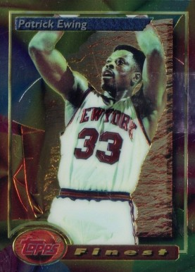 1993 Finest Patrick Ewing #165 Basketball Card