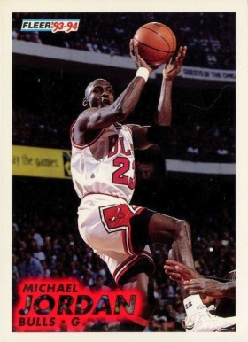 1993 Fleer Michael Jordan #28 Basketball Card