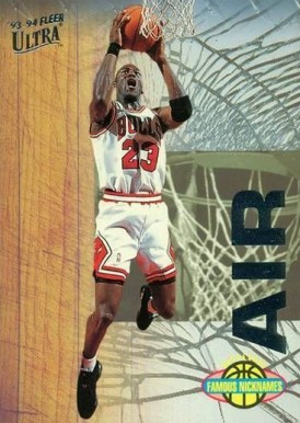 1993 Ultra Famous Nicknames Michael Jordan #7 Basketball Card