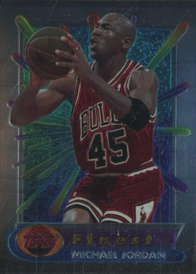 1994 Finest Michael Jordan #331 Basketball Card Value Price Guide