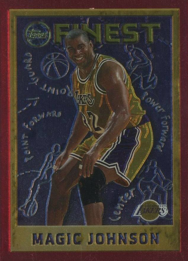 1995 Finest Magic Johnson #252 Basketball Card