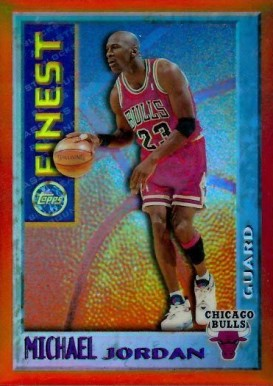 1995 Finest Mystery Bordered Refractors Michael Jordan #M1 Basketball Card