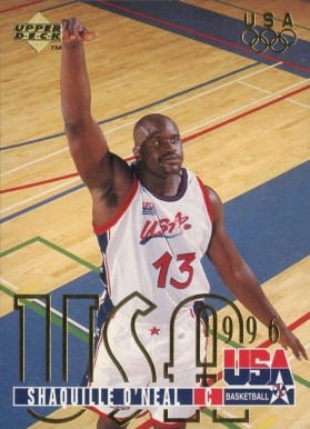 1995 Upper Deck Shaquille O'Neal #321 Basketball Card