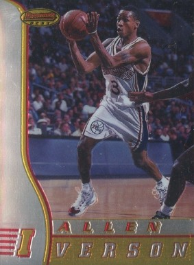 1996 Bowman's Best Allen Iverson #R1 Basketball Card