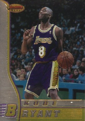 1996 Bowman's Best Kobe Bryant #R23 Basketball Card