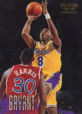 1996 Fleer Kobe Bryant #203 Basketball Card