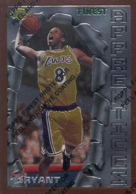 1996 Finest Kobe Bryant #74 Basketball Card