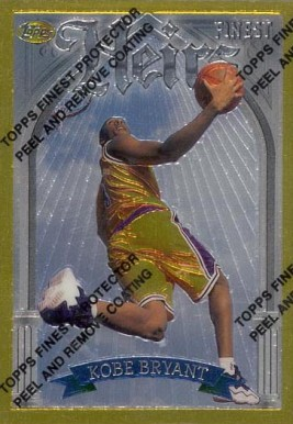 1996 Finest Kobe Bryant #269 Basketball Card