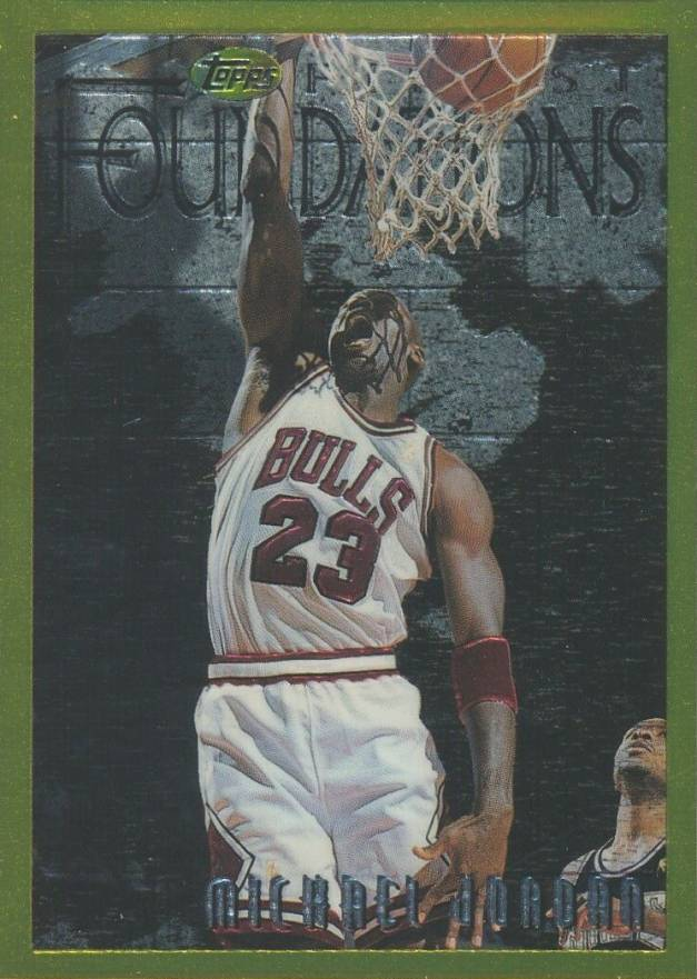 1996 Finest Michael Jordan #291 Basketball Card