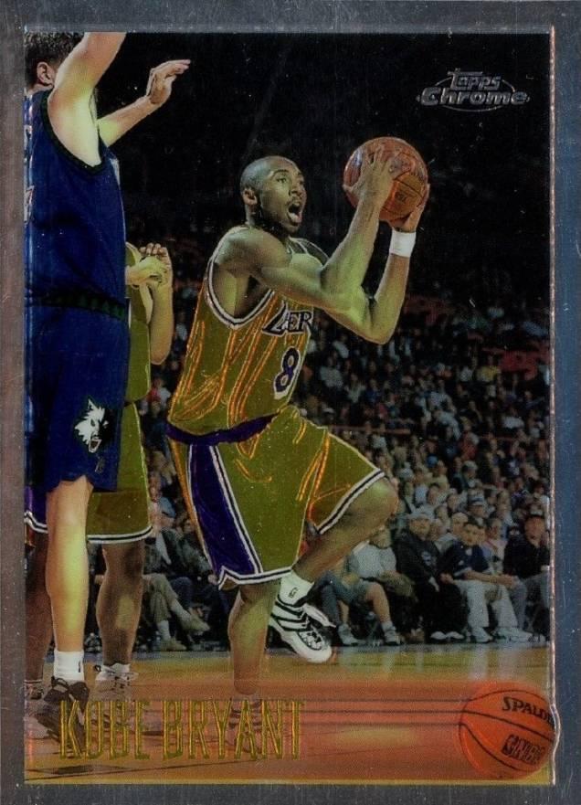 1996 Topps Chrome Kobe Bryant #138 Basketball - VCP Price Guide