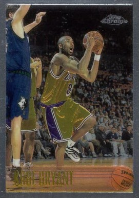 1996 Topps Chrome Kobe Bryant #138 Basketball Card