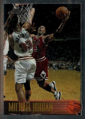 1996 Topps Chrome Michael Jordan #139 Basketball Card