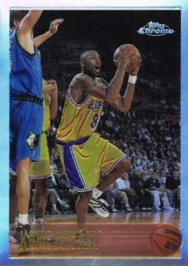 1996 Topps Chrome Refractor Kobe Bryant #138 Basketball Card