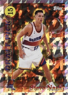 1996 Topps Draft Redemption Steve Nash #15 Basketball Card