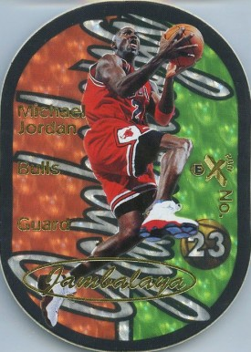 1997 E-X 2001 Jambalaya Michael Jordan #6 Basketball Card