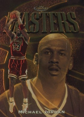 1997 Finest Michael Jordan #154 Basketball Card