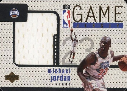 1997 Upper Deck Game Jerseys Michael Jordan #GJ13 Basketball Card