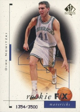 1998 SP Authentic Dirk Nowitzki #99 Basketball Card