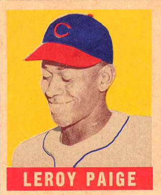 1948 Leaf Satchel Paige #8 Baseball Card