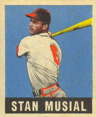 1948 Leaf Stan Musial #4 Baseball Card