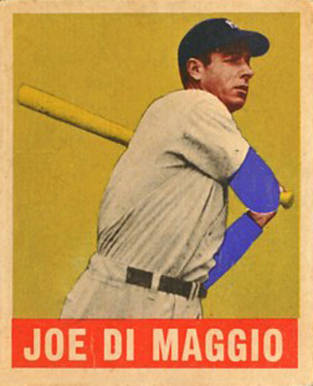 1948 Leaf Joe DiMaggio #1 Baseball Card