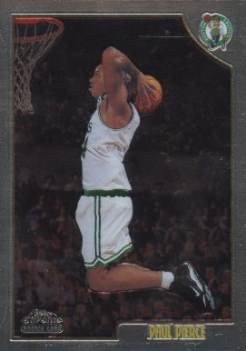 1998 Topps Chrome Paul Pierce #135 Basketball Card