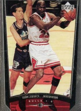 1998 Upper Deck Michael Jordan #230B Basketball Card