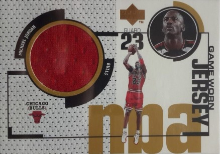 1998 Upper Deck Game Jerseys Michael Jordan #GJ20 Basketball Card