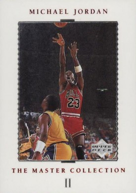 1999 Upper Deck MJ Master Collection Michael Jordan #2 Basketball Card
