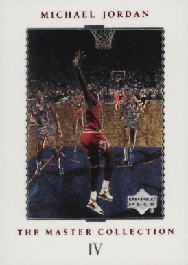 1999 Upper Deck MJ Master Collection Michael Jordan #4 Basketball Card