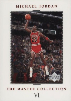 1999 Upper Deck MJ Master Collection '88 Slam Dunk #6 Basketball Card