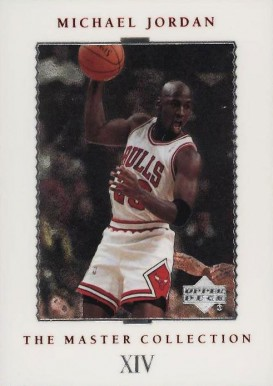 1999 Upper Deck MJ Master Collection '92-93 Season #14 Basketball Card