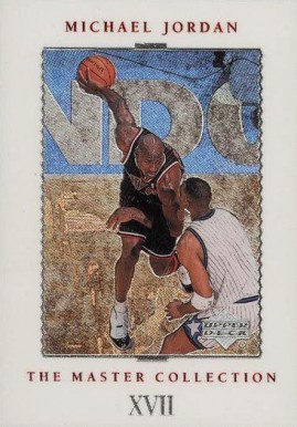 1999 Upper Deck MJ Master Collection '95-96 Season #17 Basketball Card