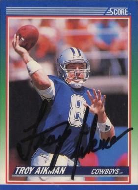 1990 Score Football Card #70 Chris Miller