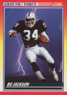 1990 Score Bo Jackson #330 Football - VCP Price Guide