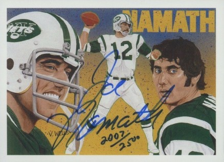 huge discount 390c0 70596 1991 Upper Deck Joe Namath Heroes Football Card Set - VCP ...