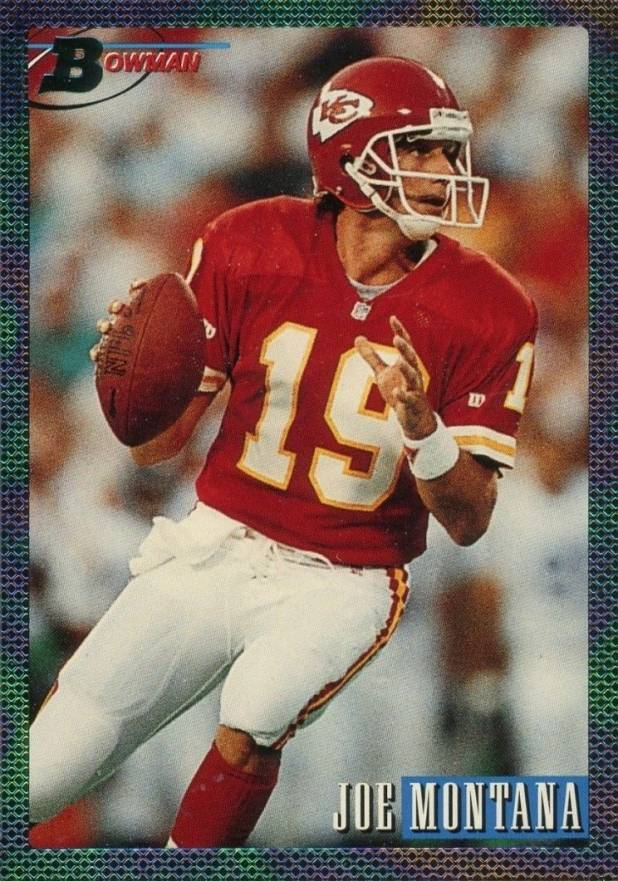 1993 Bowman Joe Montana #200 Football Card