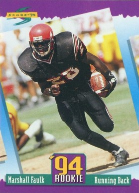 Marshall Faulk Hall Of Fame Football Cards