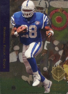 1994 SP Marshall Faulk #3 Football Card