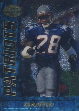 1995 Bowmans Best Curtis Martin #R74 Football Card