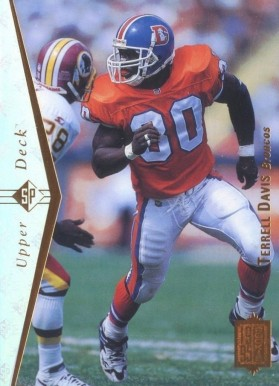 1995 SP Terrell Davis #130 Football Card