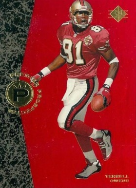 1996 SP Terrell Owens #7 Football Card