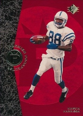 1996 SP Marvin Harrison #18 Football Card