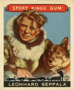 1933 Goudey Sport Kings Leonhard Seppala #48 Boxing & Other Card