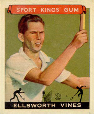 1933 Goudey Sport Kings Ellsworth Vines #46 Boxing & Other Card