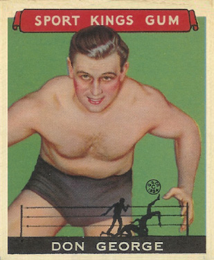 1933 Goudey Sport Kings Don George #40 Boxing & Other Card