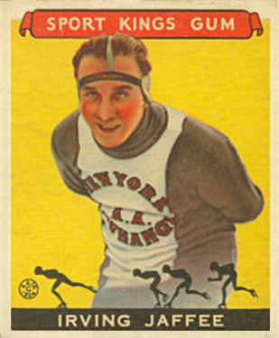 1933 Goudey Sport Kings Irving Jaffee #34 Boxing & Other Card